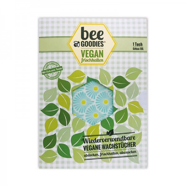 beeGoodies XXL-Bienenwachstuch VEGAN