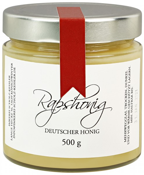 Rapshonig - Deutscher Honig