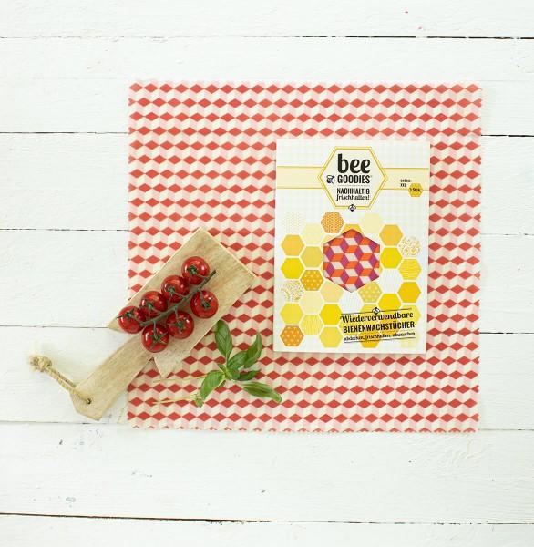 beeGoodies XXL-Bienenwachstuch